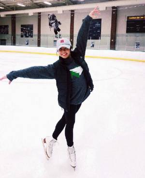 Michelle Skating